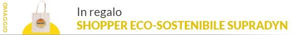 Omaggio Shopper Eco-Sostenibile